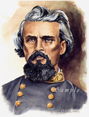 内森·贝福德·福瑞斯特,原本是田纳西州的一个奴隶主。没上过西点军校,也没读过军事书,但却拉起了南方军最具战斗力的一支骑兵部队,《阿甘正传》的主角弗雷斯·甘就是以他的名字命名的。这位大哥可以说是一个实打实的传奇。