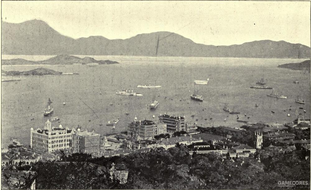 十九世纪末的香港