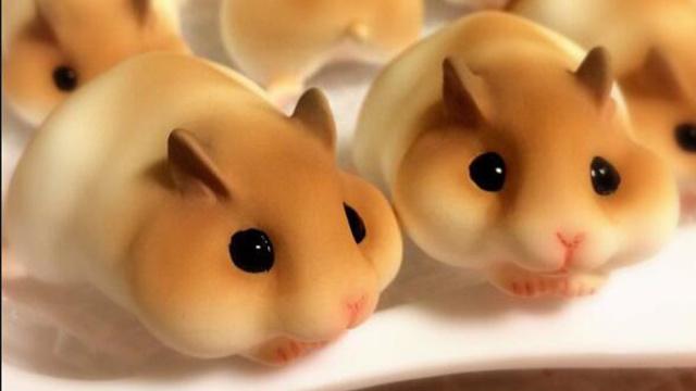 这家公司把小仓鼠摆件做成了点心的风格,萌萌哒怎么让人下的去口!