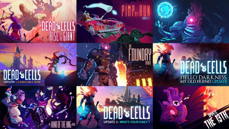 《死亡细胞》迎来新更新:允许Steam玩家游玩先前版本