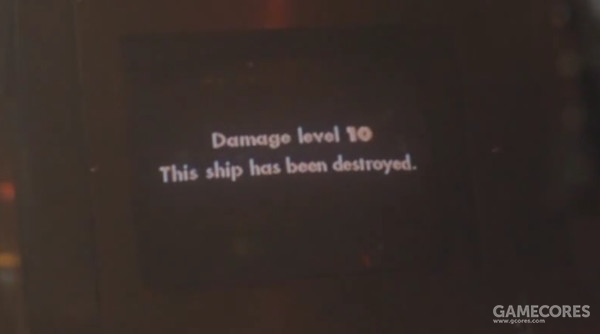 """被击毁的时候显示的英文为""""This ship"""""""