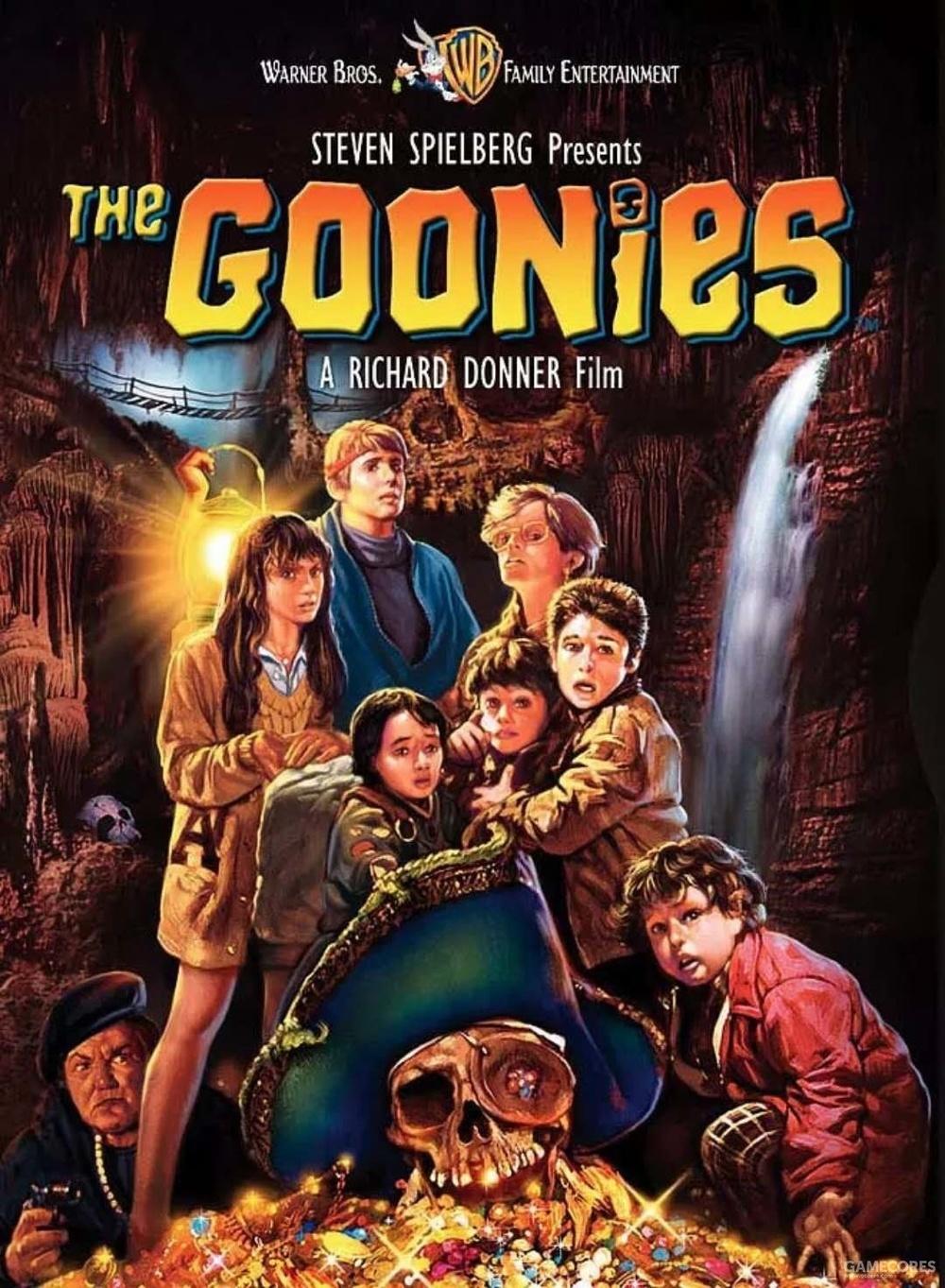 《七宝奇谋》(The Goonies 1985)海报