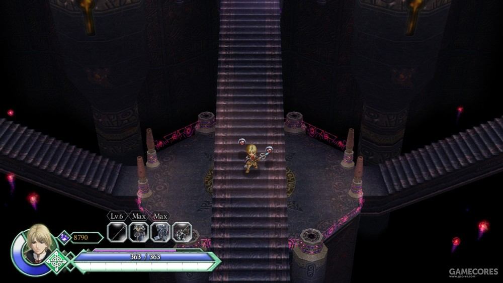 魔核领域有很强的纵深空间感,其中的魔物常常使用空间与重力魔法。