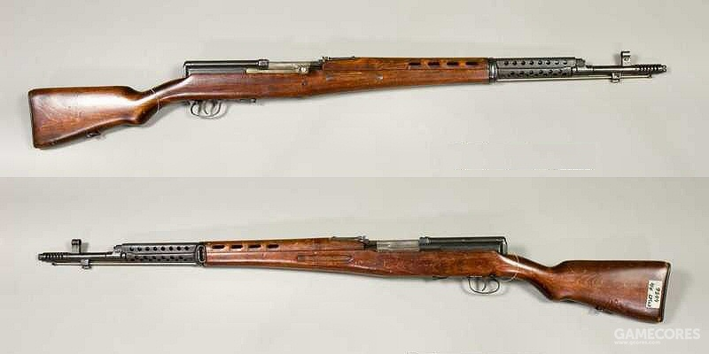 未能取代莫辛纳·甘的SVT-40半自动步枪