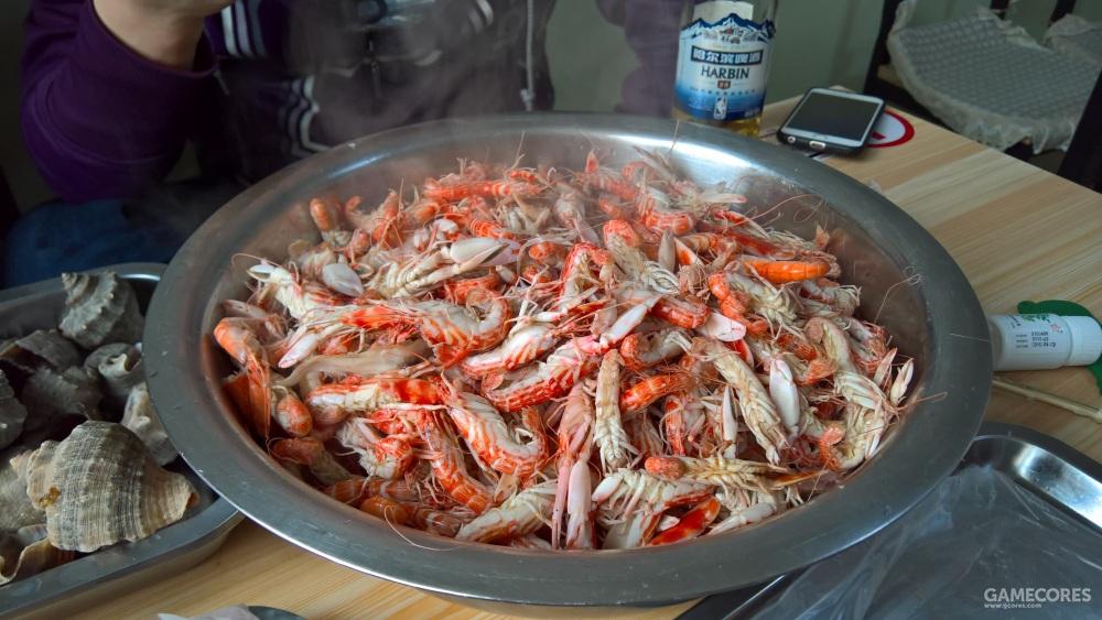 狗虾,不大但是却非常好吃的虾