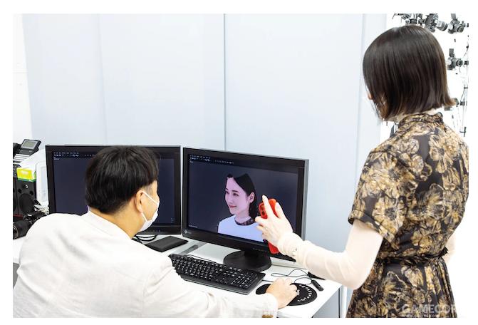 试验CG图像是否能够对通过人脸识别,不过好像没用...