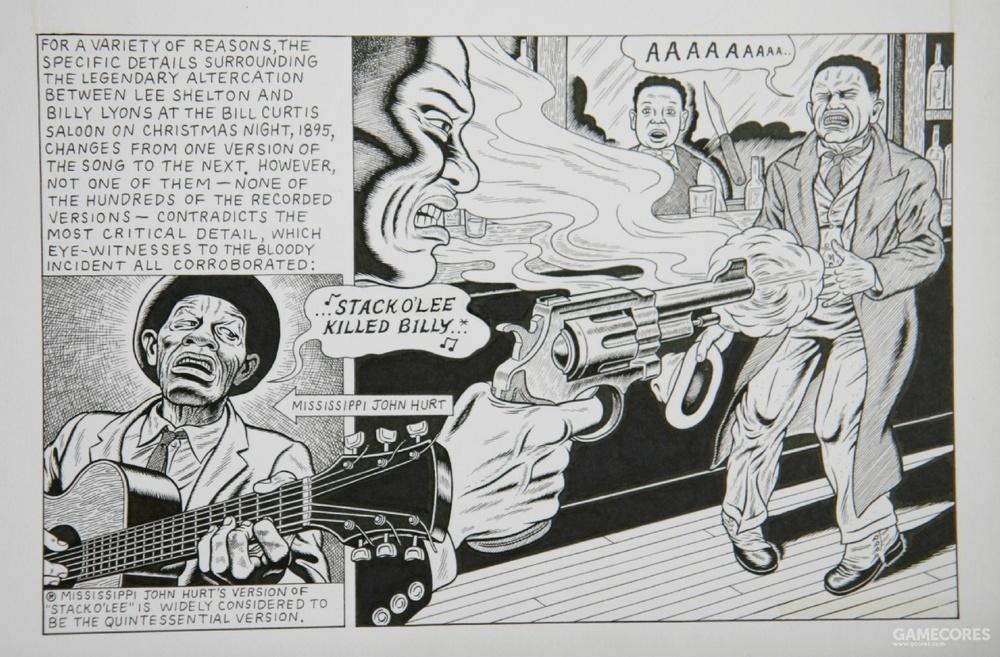 美国漫画《Stagger Lee》,这部漫画也是早期美式漫画的重要作品